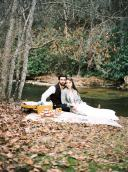 roan-mountain-elopement-north-carolina-weddings-trendy bridge 3